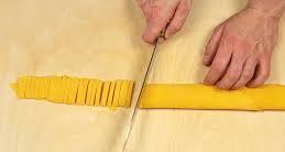 tagliare le tagliatelle