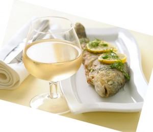 vino pesce