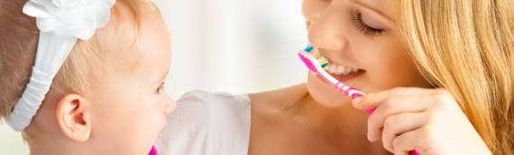 Igiene orale da bambini