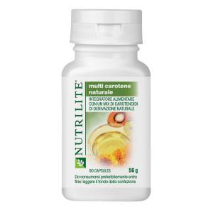 Multi Carotene Naturale NUTRILITE è un integratore alimentare antiossidante con carotenoidi estratti da fonti naturali.