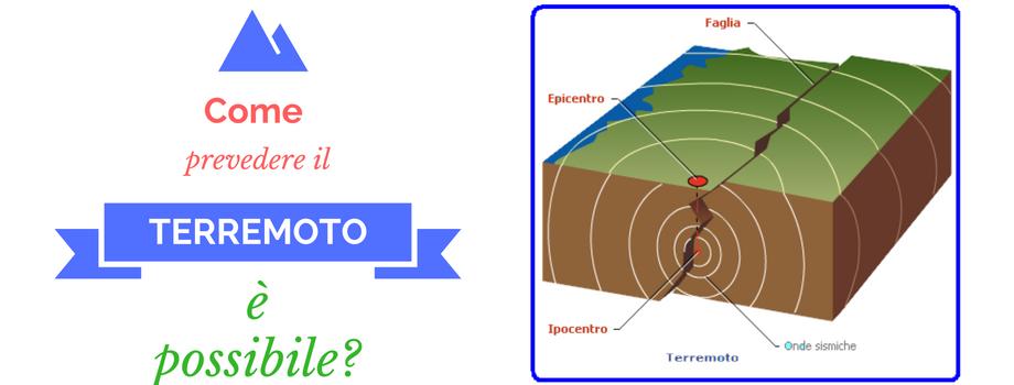 prevedere il terremoto