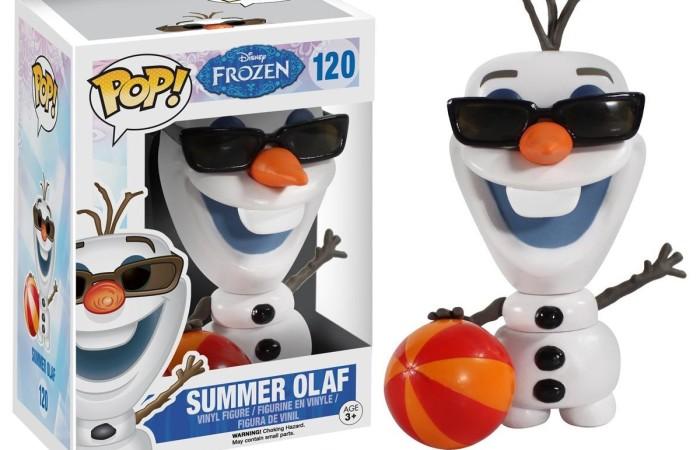 giocattolo funko pop summer olaf